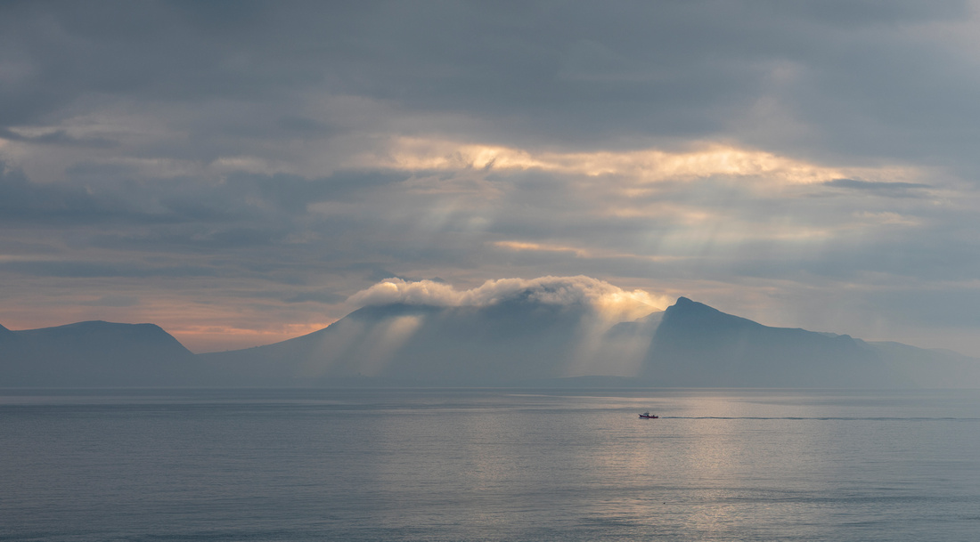 God Rays on a Fishing Boat